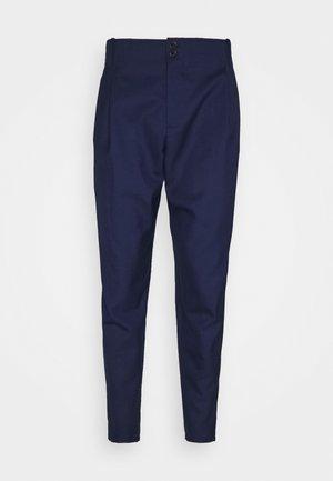BEAM PANTS - Spodnie materiałowe - navy tropical