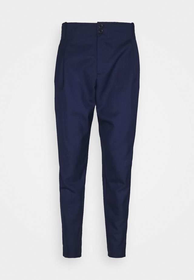 BEAM PANTS - Trousers - navy tropical