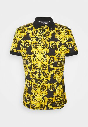 PRINT LOGO BAROQUE  - Polo - black