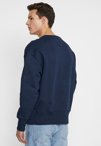 Tommy Jeans - BADGE CREW UNISEX - Collegepaita - blue - 2