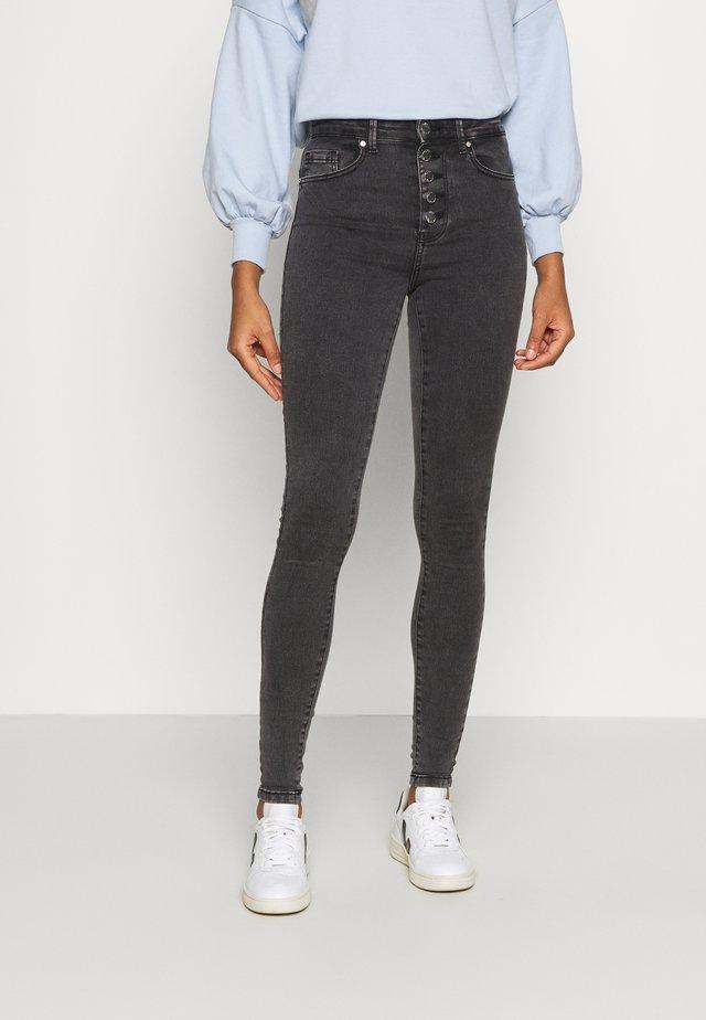 ONLROYAL ACID  - Jeans Skinny Fit - black denim