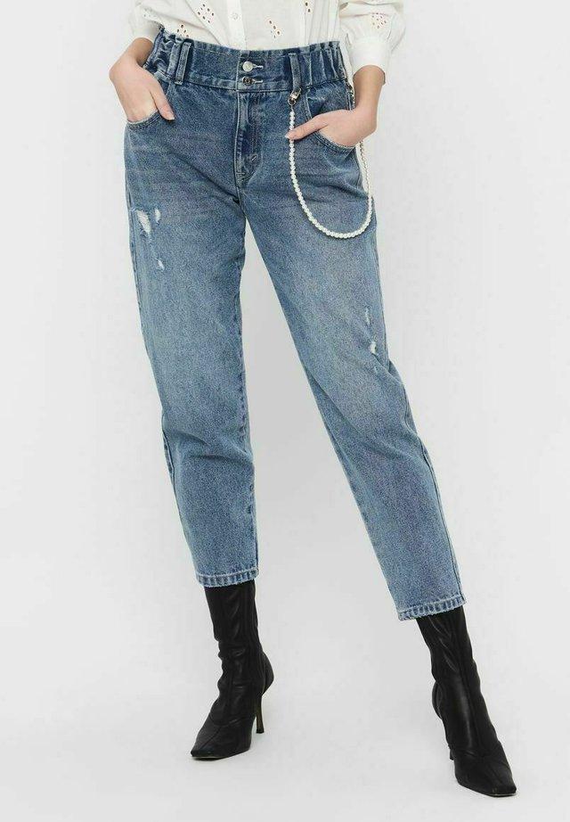 ONLLU  - Jeans baggy - medium blue denim