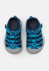 Keen - NEWPORT H2 UNISEX - Chodecké sandály - vivid blue/katydid - 3