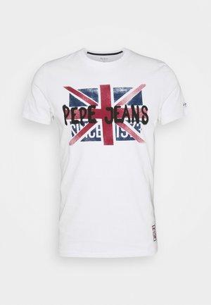 ROLAND - T-shirt print - white