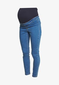 Missguided Maternity - OVER BUMP VICE SUPERSTRETCHY - Jeans Skinny Fit - blue - 3