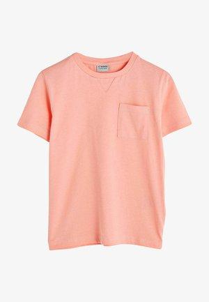 T-shirt basique - coral
