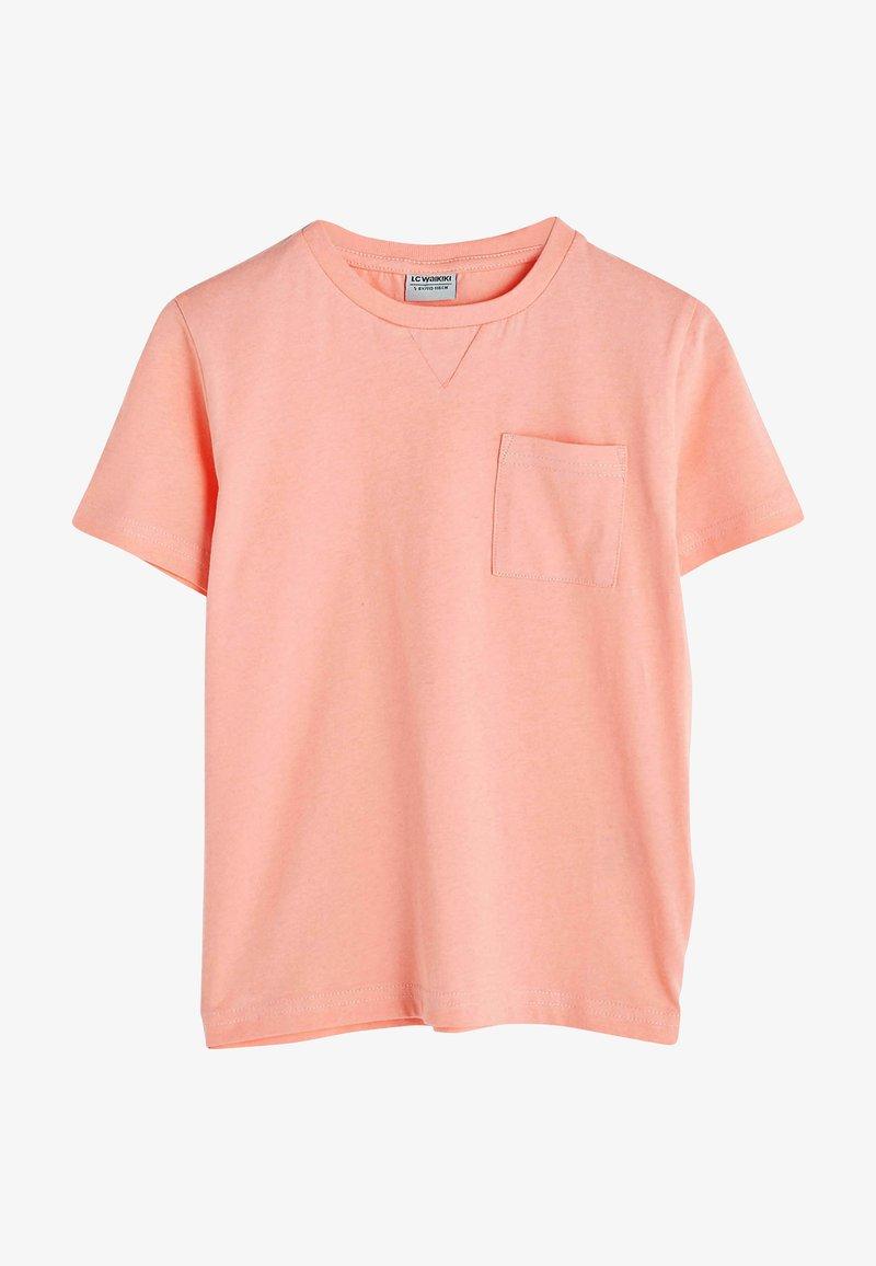 LC Waikiki - T-shirt basic - coral