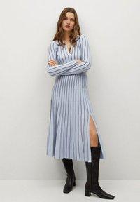 Mango - ARARE - A-line skirt - bleu - 1