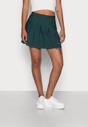 PLEATED SKIRT - Spódnica plisowana - botanical green