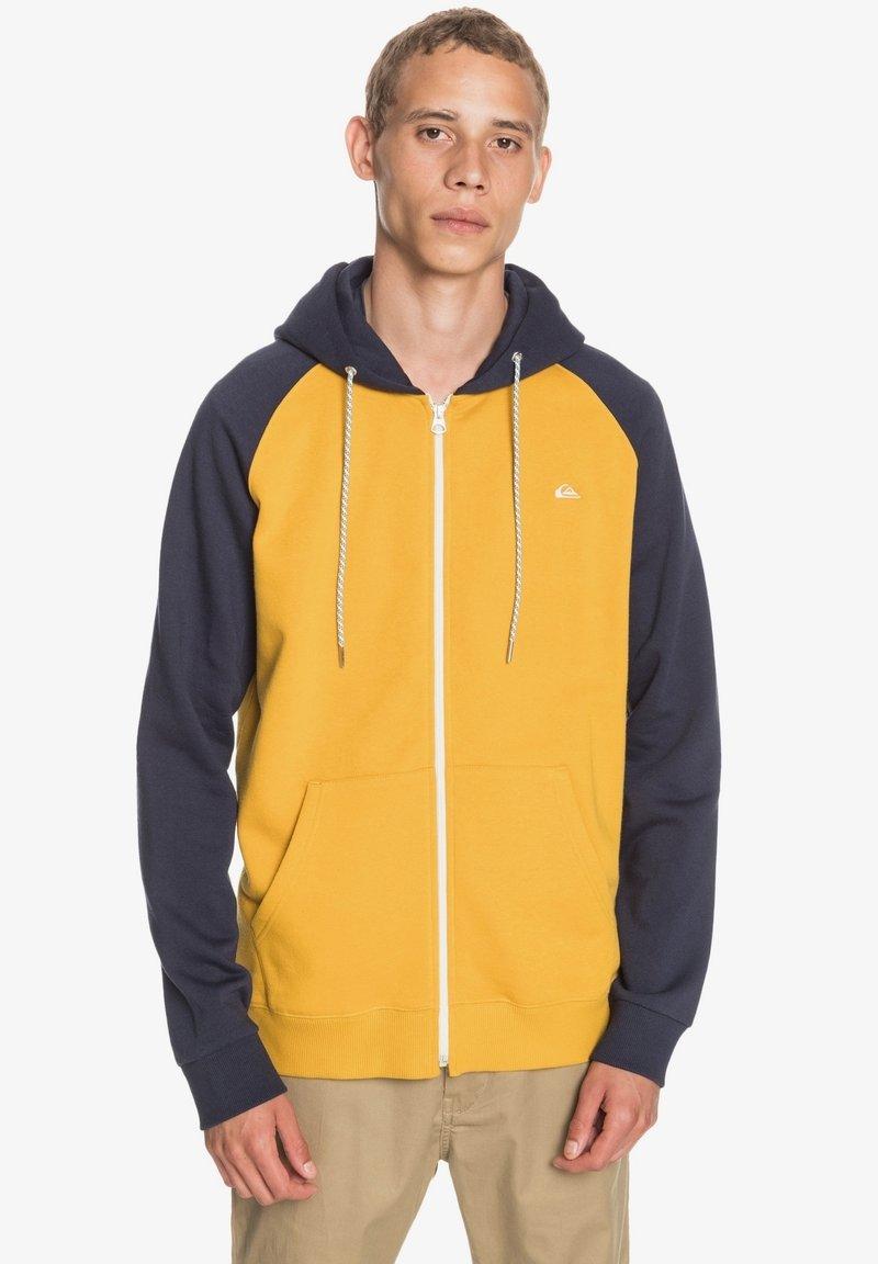 Quiksilver - EVERYDAY - Zip-up sweatshirt - honey