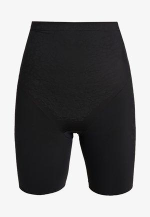 HIGH WAIST THIGH SLIMMER - Stahovací prádlo - black