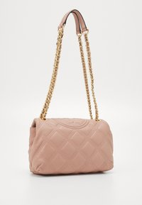 Tory Burch - FLEMING SOFT SMALL CONVERTIBLE SHOULDER BAG - Kabelka - pink moon - 1
