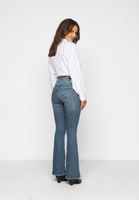 Dr.Denim Petite - MOXY  - Flared Jeans - eastcoast blue - 2