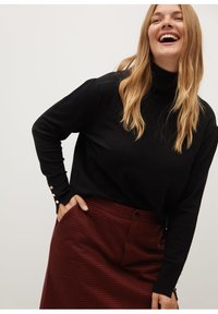 Violeta by Mango - SIENNA - Pencil skirt - rot - 3