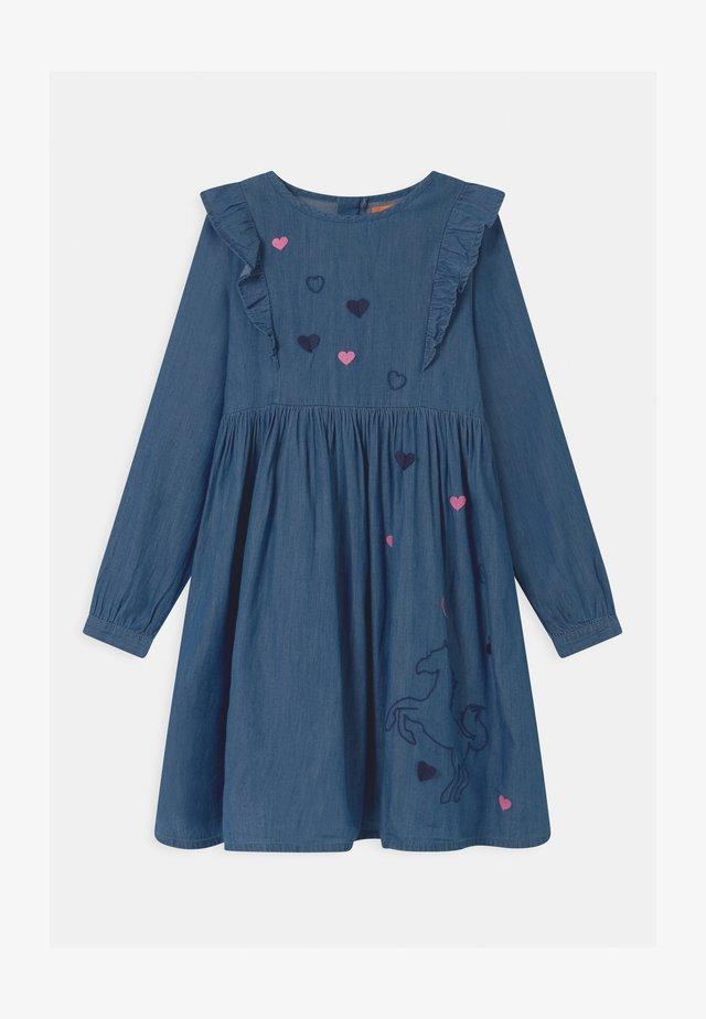 Jeanskleid - dark blue denim