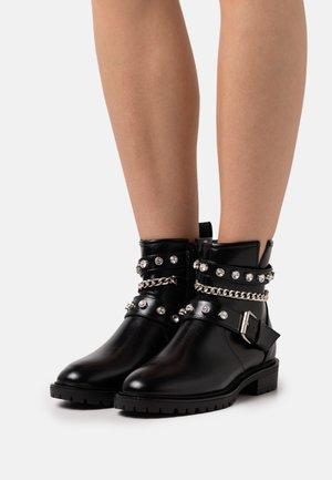 ONLTINA BOOT - Kovbojské/motorkářské boty - black