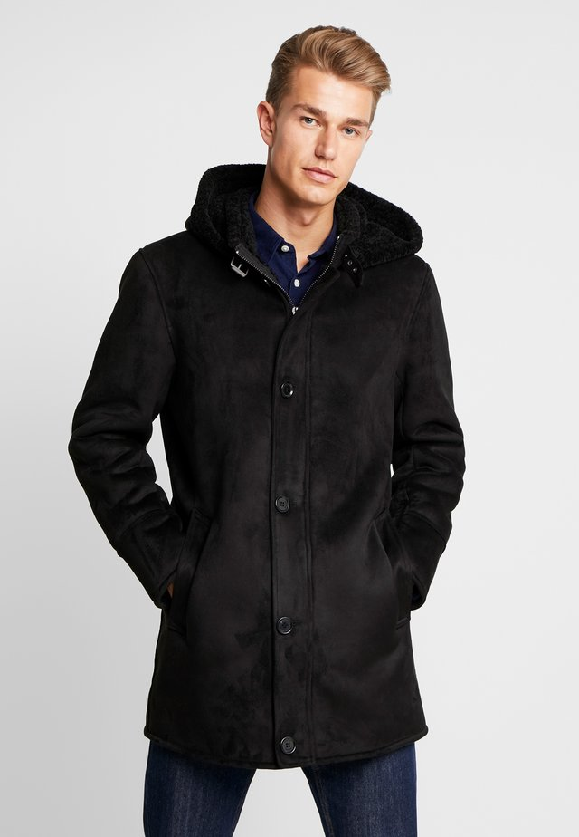 DYLAN - Classic coat - black