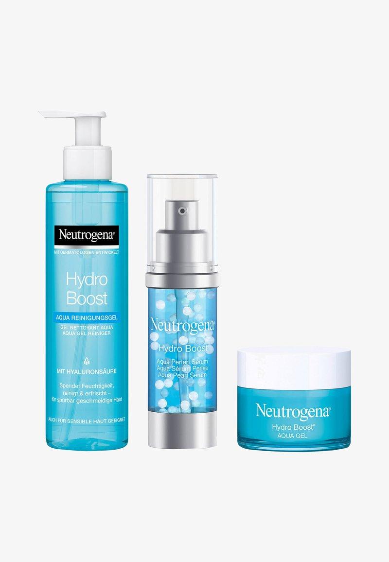 Neutrogena - GESICHTSPFLEGE HYDRO BOOST SET: AQUA REINIGUNGSGEL, AQUA PERLEN  - Skincare set - -