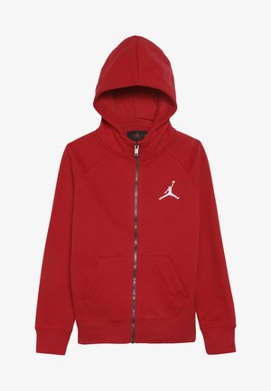 JUMPMAN FULL ZIP - Felpa aperta - gym red