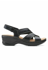 Clarks - LEXI PEARL - Sandals - black leather - 5