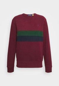 Polo Ralph Lauren - Sweatshirt - bordeaux/dark green/dark blue - 6