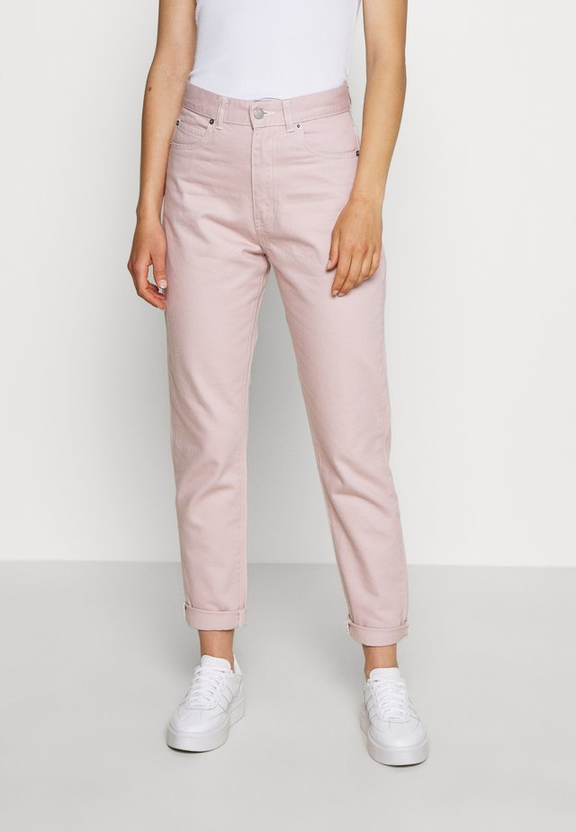 NORA - Jeans Relaxed Fit - rose quartz