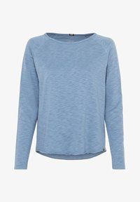 camel active - Long sleeved top - blue-grey - 0