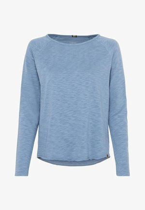 Long sleeved top - blue-grey