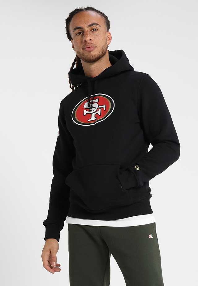NFL SAN FRANCISCO 49ERS LOGO HERREN - Article de supporter - black
