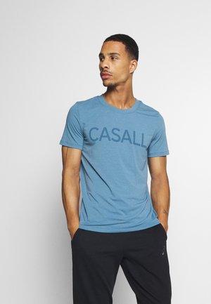 LOGO TEE - T-shirt print - inclusive blue