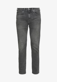 ED-80 - Jeans Tapered Fit - black denim