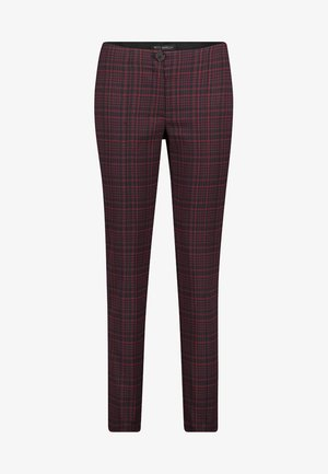 Trousers - black/red