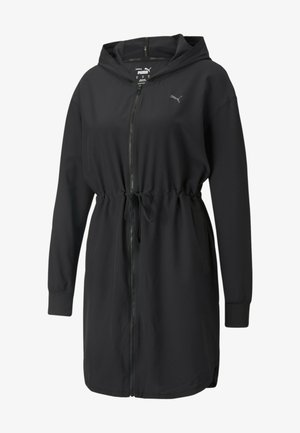 PUMA STUDIO FLOW WOMEN'S TRAINING JACKET KVINDE - Outdoor jacket - black