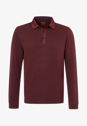RAUTENMUSTER - Polo shirt - dunkelrot