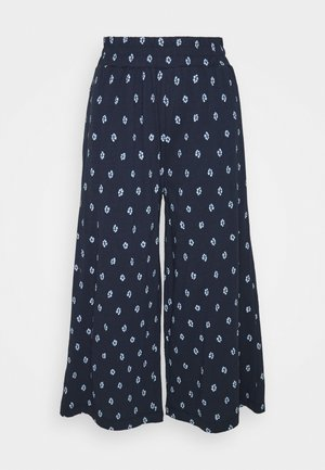 ROMESHKA CULOTTES - Pantalon classique - navy