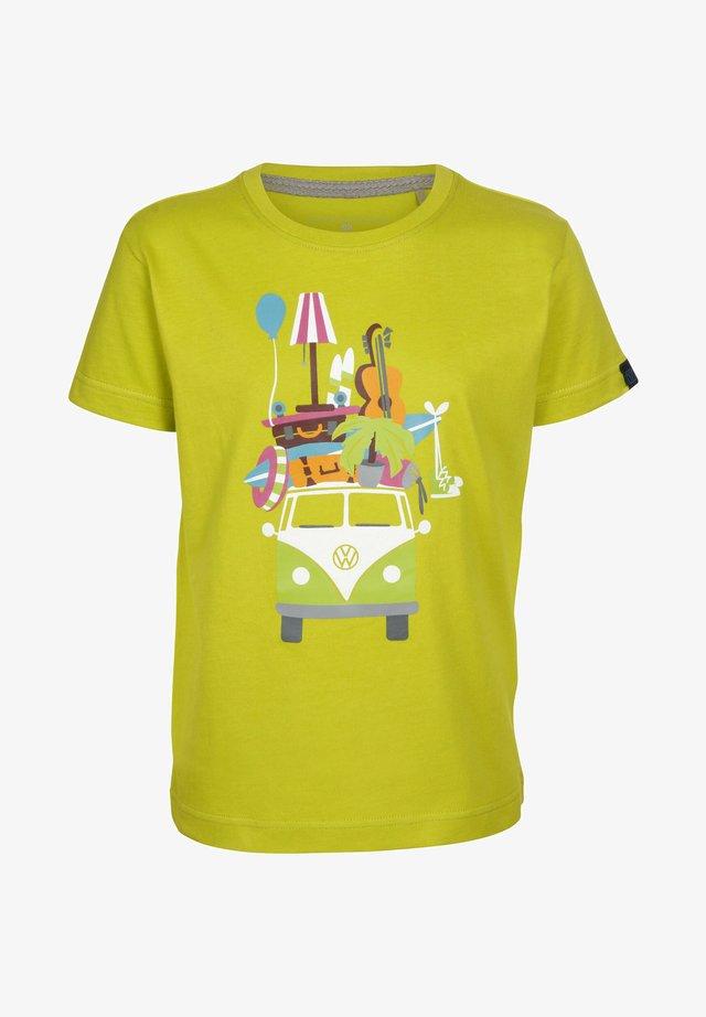Print T-shirt - citronelle