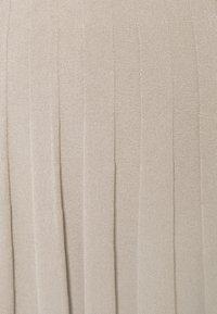 Filippa K - RUBY SKIRT - Áčková sukně - grey beige - 6