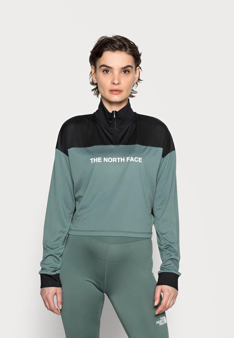 The North Face - Pitkähihainen paita - balsam green