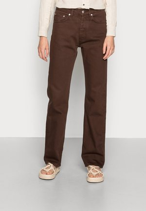 PITCH - Jeans straight leg - brown