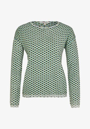 Jumper - light mint dots