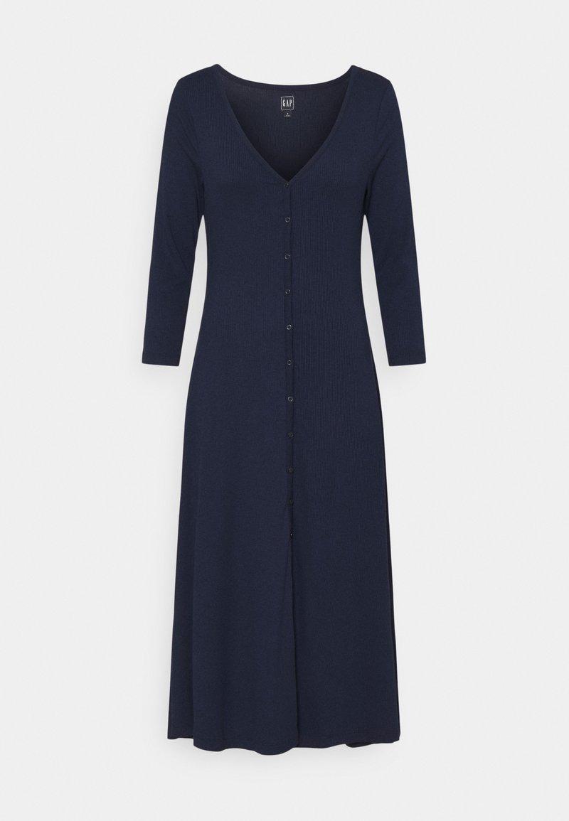 GAP - Strikket kjole - navy uniform