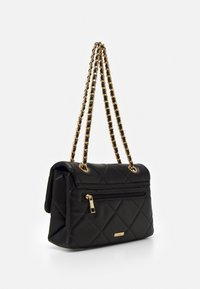 ALDO - ALOJA - Across body bag - jet black/gold - 1