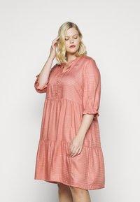 JUNAROSE - by VERO MODA - JRGESO KNEE DRESS  - Shirt dress - old rose - 0