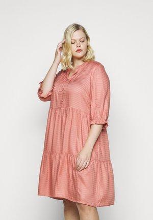 JRGESO KNEE DRESS  - Shirt dress - old rose