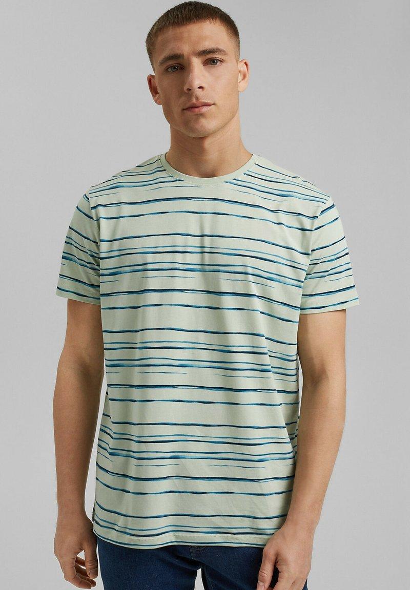 Esprit - Print T-shirt - pastel green
