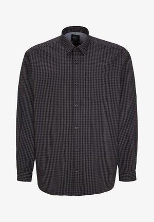 Overhemd - black check