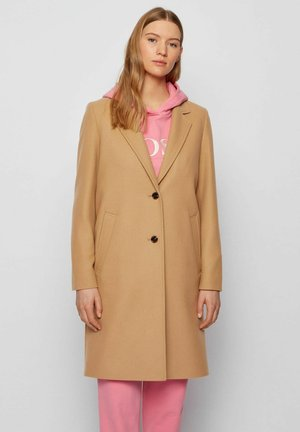 Classic coat - light brown