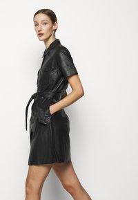2nd Day - FRODEY - Košilové šaty - black - 4