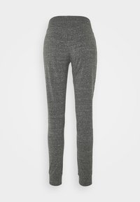 Champion - CUFFED PANTS - Tracksuit bottoms - mottled grey - 6