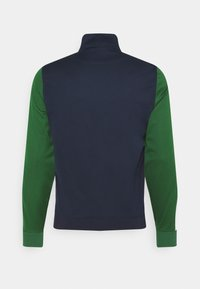 Lacoste Sport - TENNIS JACKET - Veste de survêtement - navy blue/green - 1
